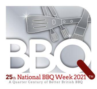 25th National BBQ Week logo
